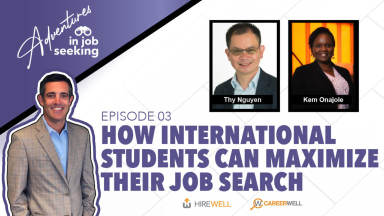 How International Students Can Maximize their Jobsearch