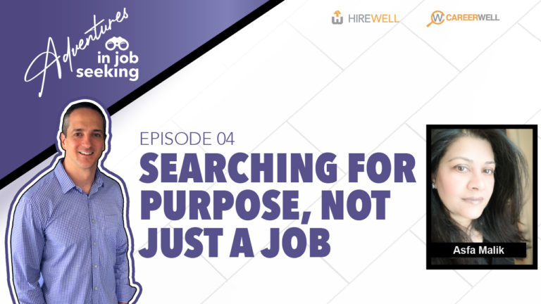 Searching for Purpose, Not Just a Job