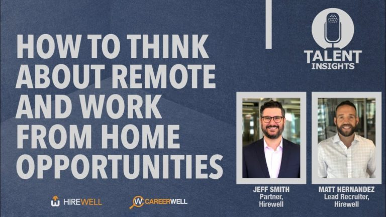 How to Think About Remote and Work from Home Opportunities