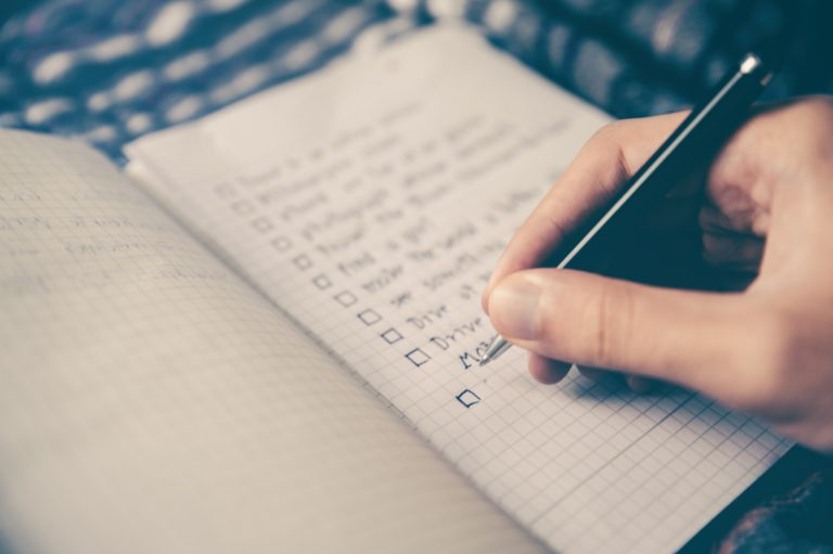 The To-Do List: The First 5 Things to do when you Start Your Job Search