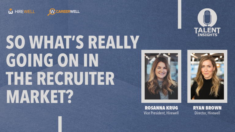 So What's Really Going On In The Recruiter Market?