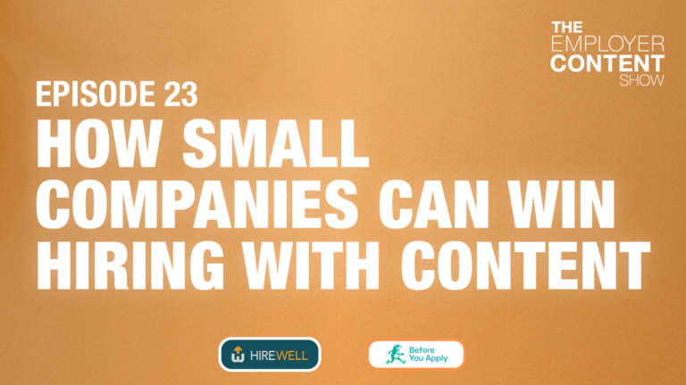 How Small Companies Can Win Hiring With Content