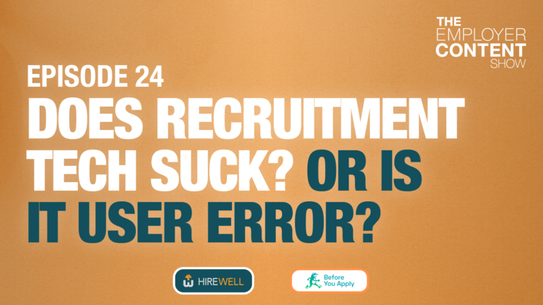 Does Recruiting Tech Suck? Or Is It User Error?