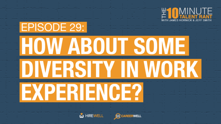 How About Some Diversity in Work Experience?